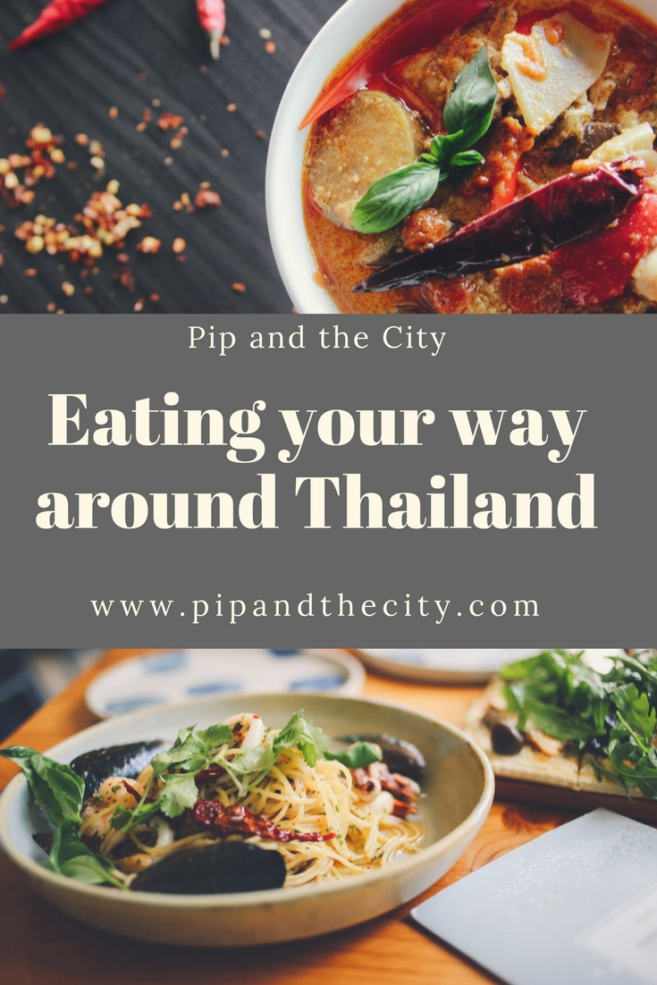 Eating your way around Thailand