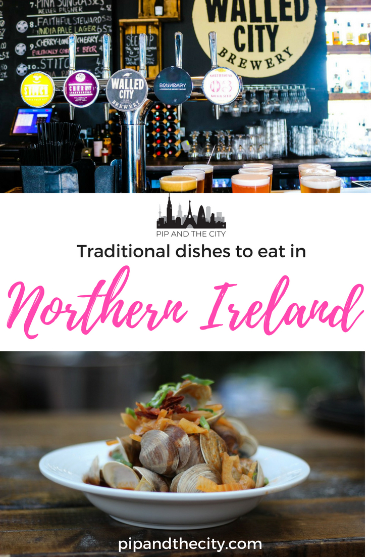 There is so much more to Irish cuisine than you might expect as there is a whole host of innovative eateries, microbreweries and hipster joints serving exciting food across Northern Ireland. Here are some traditional dishes you need to eat in Northern Ireland when you are exploring foodie travel in #Ireland #uk #foodie #traveltips
