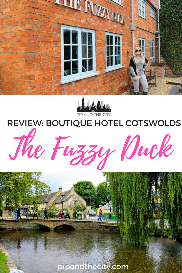 Enjoy a boutique hotel stay in the Cotswolds, UK at The Fuzzy Duck, where country life meets modern, with touches of luxury. Read my review of this beautiful Cotswolds boutique hotel to find out more. #England #visituk #cotswolds #travel #uk #boutiquehotel #cotswoldshotel #ukhotel #fuzzyduck