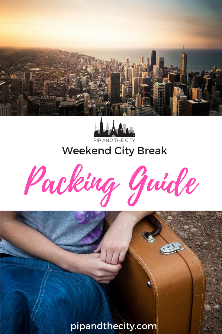 City break essentials - Pack like a pro for your next city break with my handy packing guide. Pack those little travel luxuries to make sure you look fabulous! #travel #packinglight #packing #luxury
