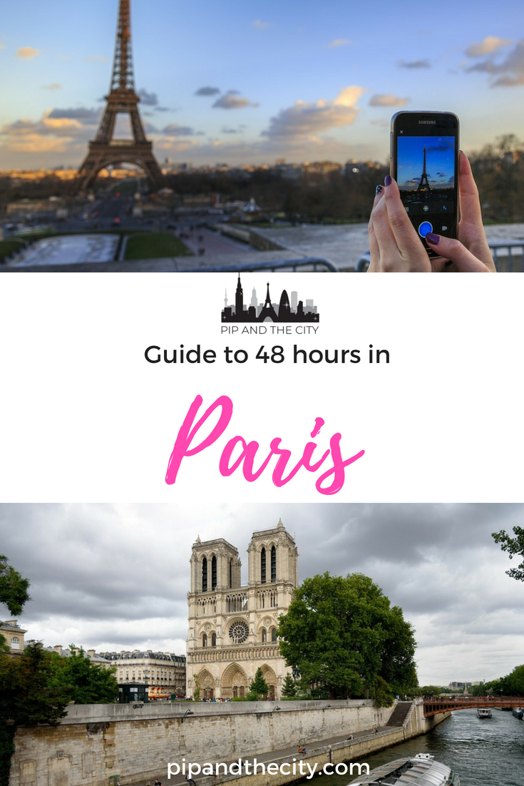 48 hours in Paris – A guide to the city of lights. How does one spend a weekend in the most stylish and romantic city of Europe? Paris is full of iconic landmarks, historical architecture, cosmopolitan cafes and boho streets. Things to do in Paris, best places to see and what to do on your Paris trip | #paris #france #city #travel #visitparis #paristravel #paristips #travelguide #parisfrance