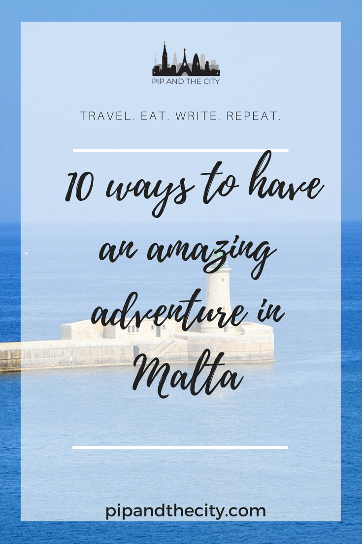 Visiting beautiful Malta in Europe? Here are 10 ways to have an amazing adventure in Malta. Includes all the amazing things you can see and do on your trip, including exploring Valletta and Mdina, diving, boat trips, delicious food and much more #valletta #malta #europe #travel #mdina #diving #weekendbreak