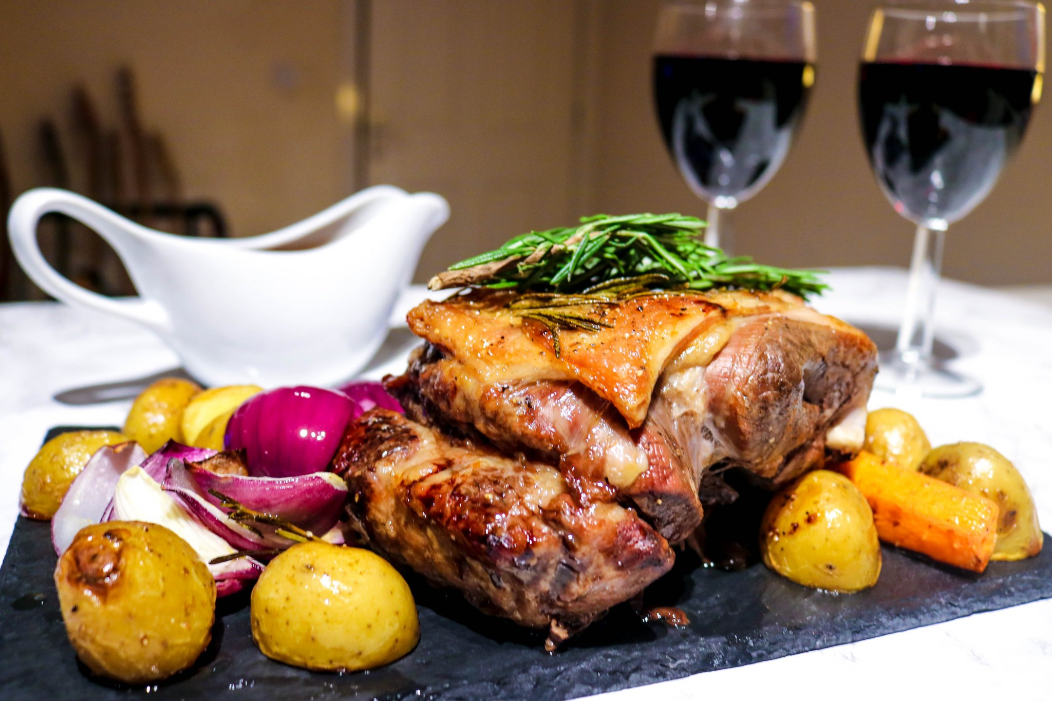 Welsh inspired recipes - Dinner menu using Welsh produce