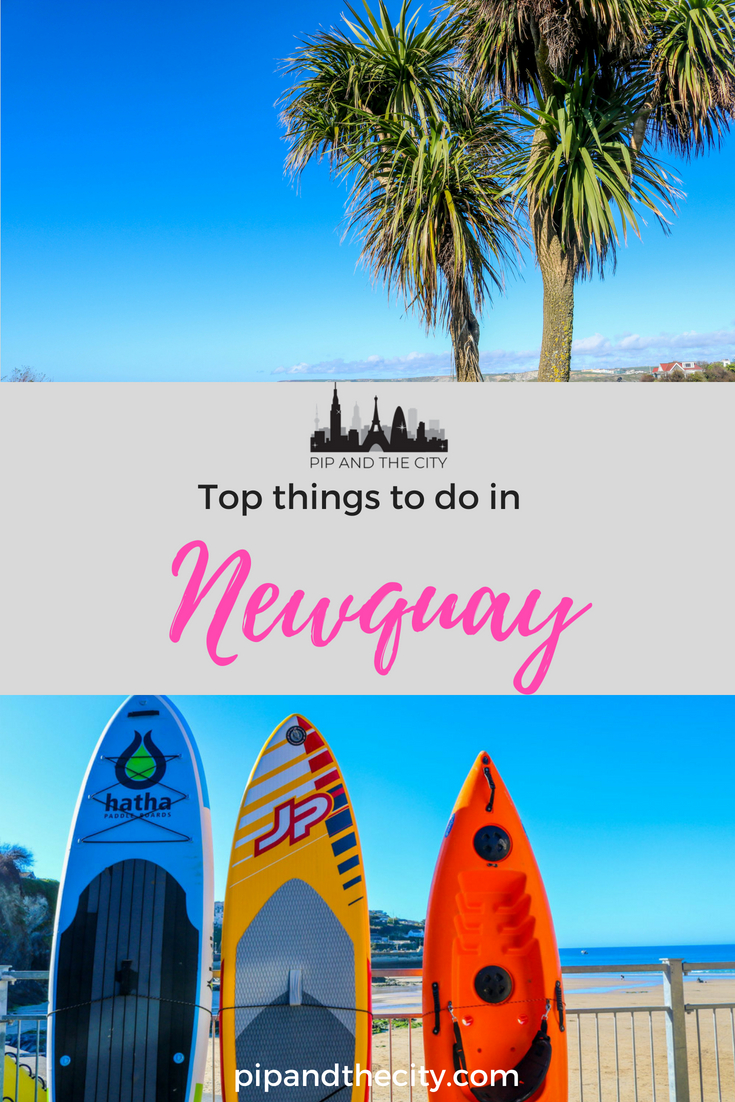 Top things to do in Newquay   Cornwall's surfing capital of the UK. Read my guide for the best things to see and do in Newquay on your visit to Cornwall. Includes learning how to surf in Newquay, golf or coastal walks. Or for the less active you can try gorgeous food, hotels and beach view bars on your weekend break to Newquay, Cornwall in the west of the UK #newquay #cornwall #uk #surfing #travelblogger #uktravel #uksurfing