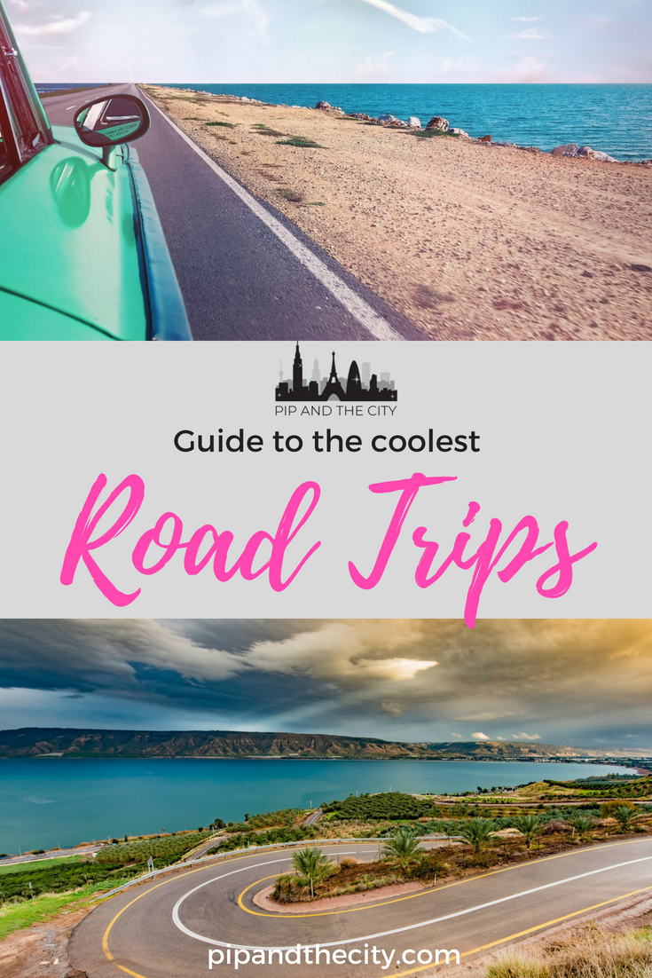 Coolest road trips | The best drives in the world! Picture the scene, you're cruising along a dusty highway, windows down, your favourite playlist on the car stereo as you whizz past miles of spectacular scenery without a care in the world. There's a real sense of freedom and romance to be had with a classic road trip! #roadtrip #driving #traveltips #travel