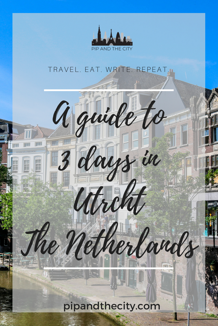 3 days in Utrecht - Read my city break guide for Utrecht, Netherlands. Includes things to do in Utrecht, places to eat and drink on your weekend break. Utrecht is one of the oldest cities in the Netherlands and you'll fall in love with its charm. Enjoy 3 days in Utrecht and explore this beautiful city #utrecht #netherlands #citybreak #weekendbreak #travel #europe