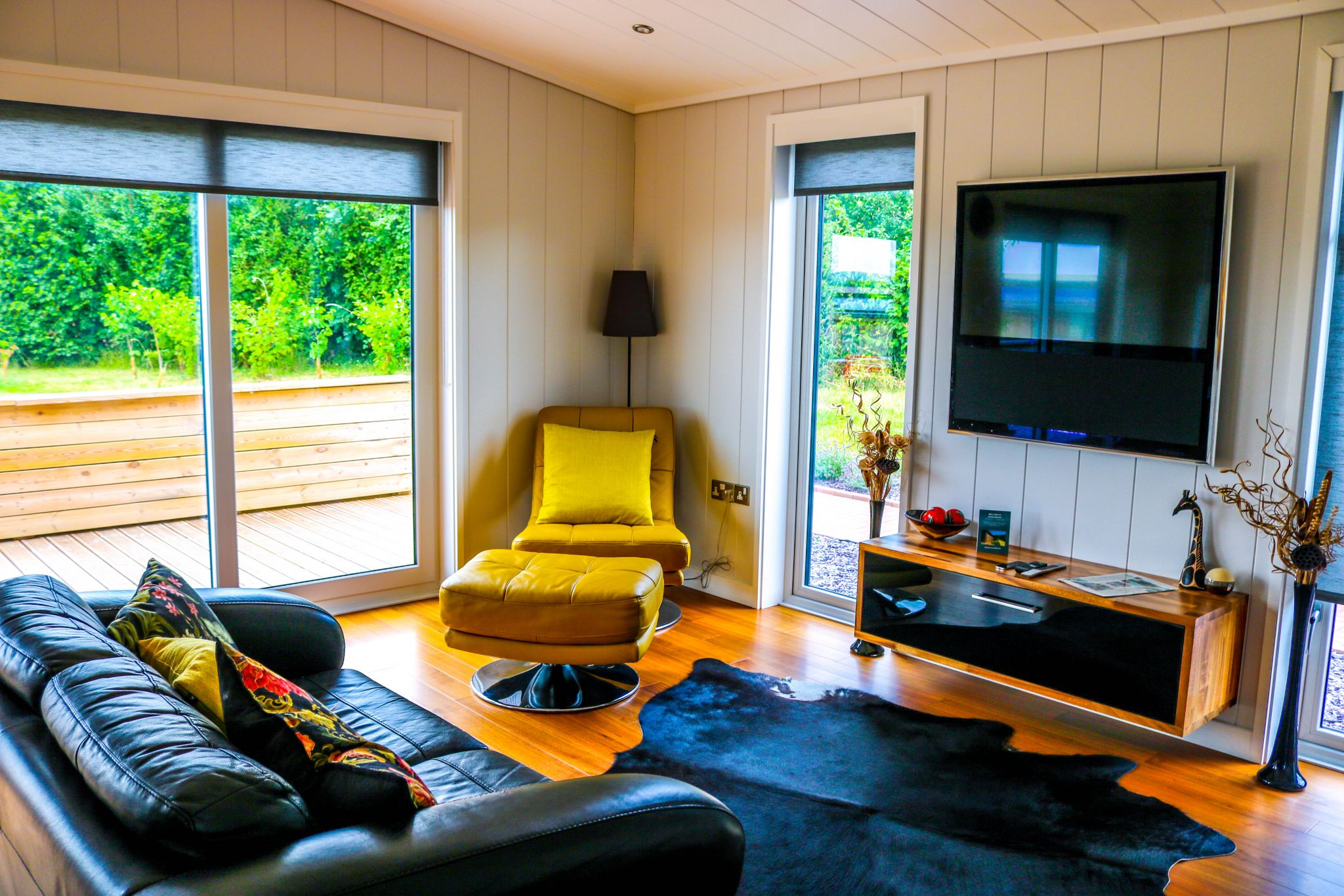A luxury lodge stay at Strawberryfield Park